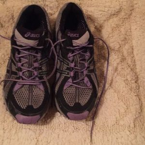 Aasics running shoes.